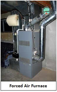 I ve got to replace my heating system what are my options for Types of forced air heating systems