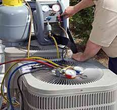 checking A/C refrigerant levels