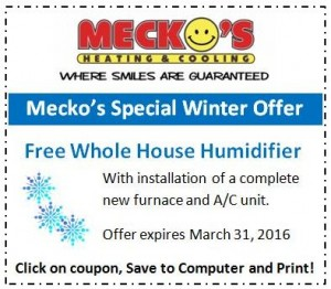 Free Humidifier Offer Coupon