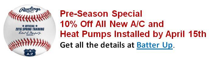 Pre Season coupon