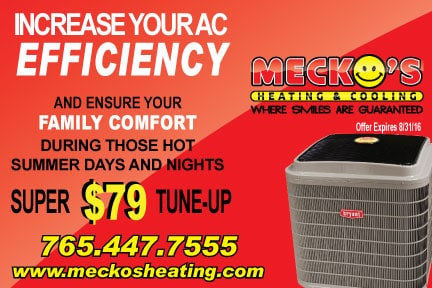Mecko's AC checkup offer