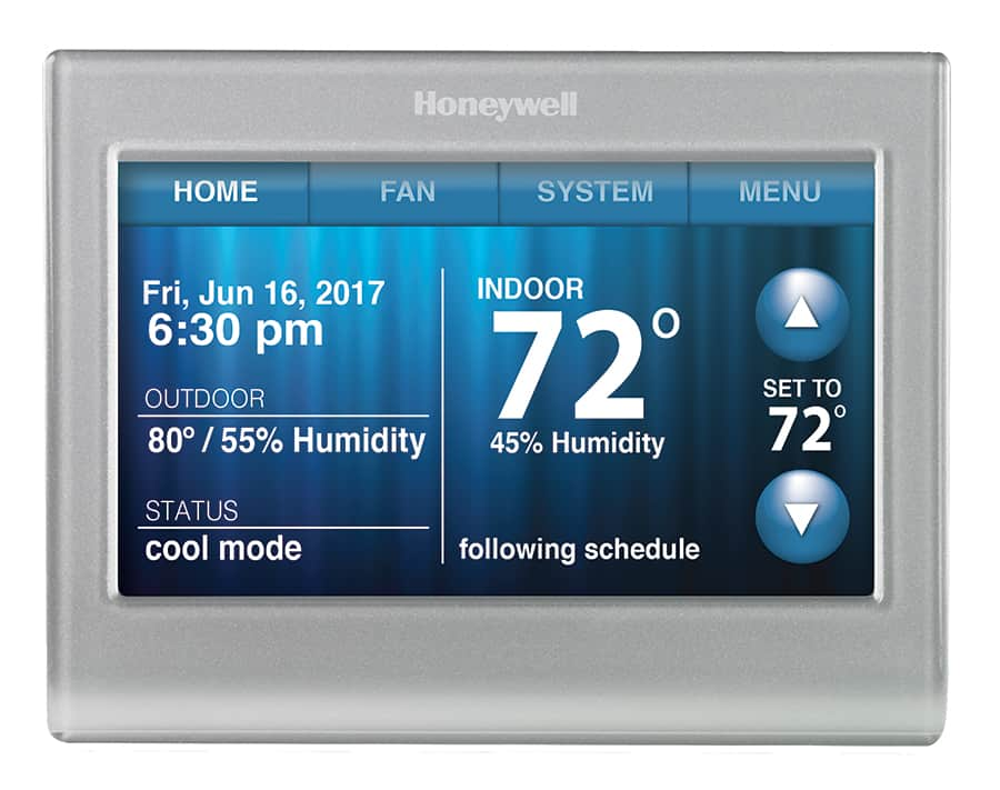 WiFi- Color Touchscreen Thermostat - 3 inch color