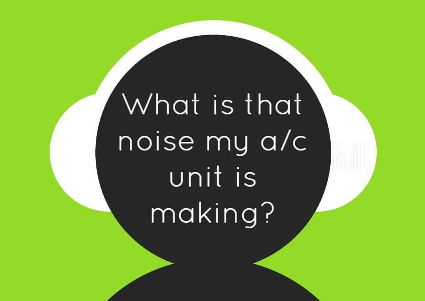 Air conditioner noise