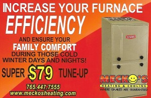 Mecko 2019 Furnace Tune Up card
